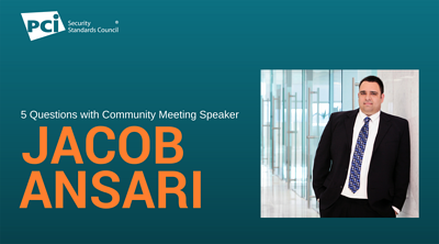 5 Questions with Community Meeting Speaker Jacob Ansari - Featured Image