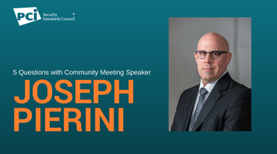 5 Questions with Community Meeting Speaker Joseph Pierini - Featured Image
