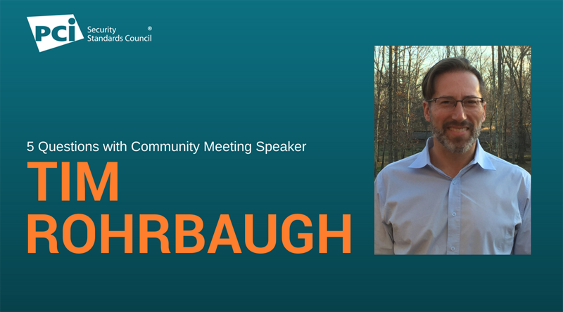 5 Questions with Community Meeting Speaker Tim Rohrbaugh  - Featured Image