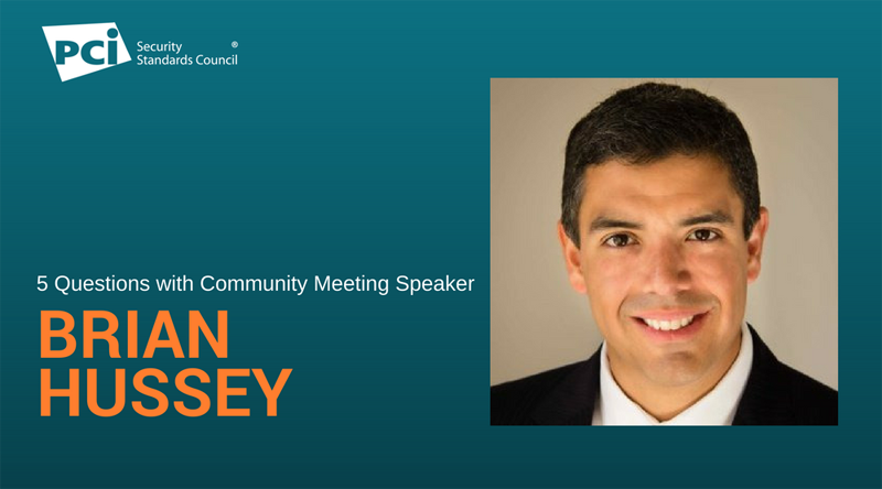 5 Questions with Community Meeting Speaker Brian Hussey - Featured Image