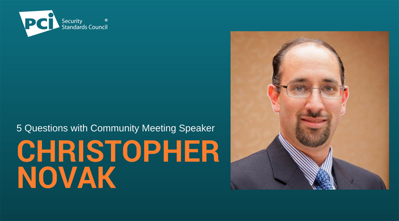 5 Questions with Community Meeting Speaker Christopher Novak - Featured Image