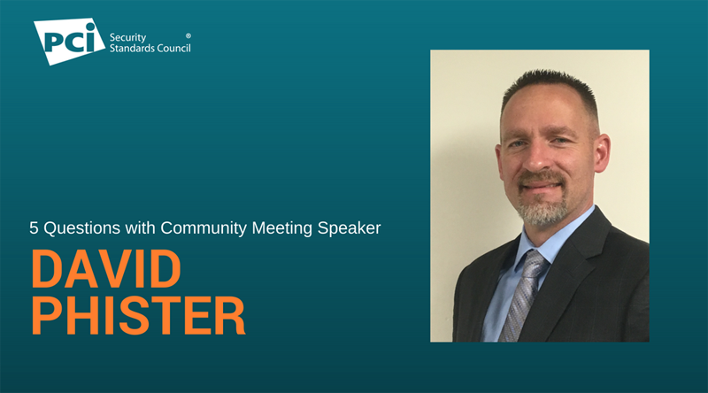 5 Questions with Community Meeting Speaker David Phister - Featured Image