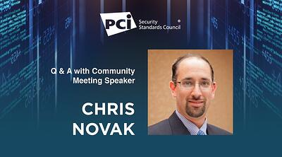 Payment Security Insights with EUCM Speaker Chris Novak - Featured Image