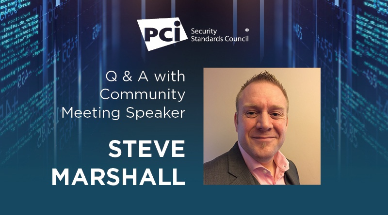 Q&A with Community Meeting Speaker Steve Marshall - Featured Image