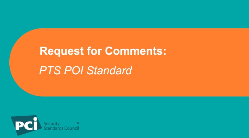 Request for Comments: PTS POI Standard - Featured Image