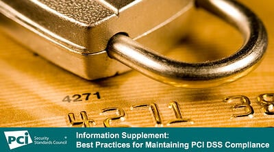 Update to Maintaining Compliance Information Supplement - Featured Image