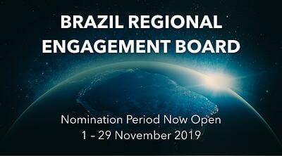 Participation Opportunity: 2020-2021 Brazil Regional Engagement Board - Featured Image