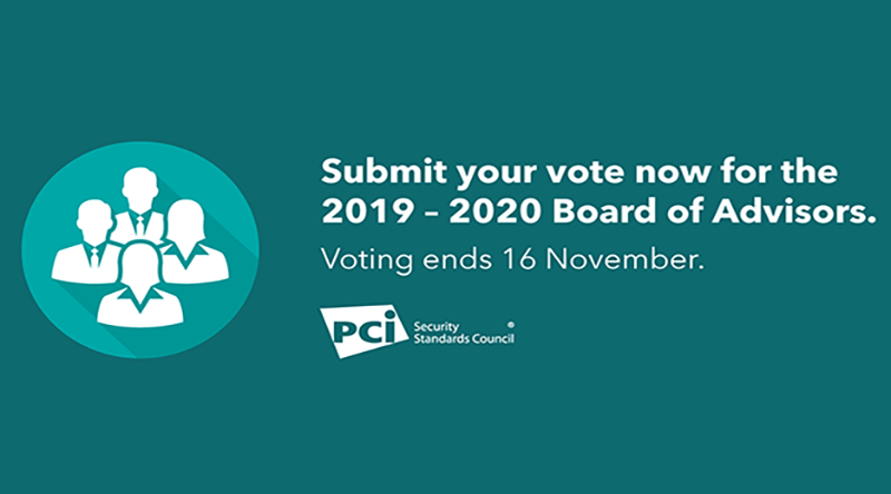 Vote Now for the 2019-2020 PCI SSC Board of Advisors - Featured Image