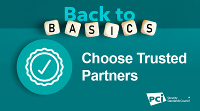 Back-to-Basics: Choose Trusted Partners - Featured Image