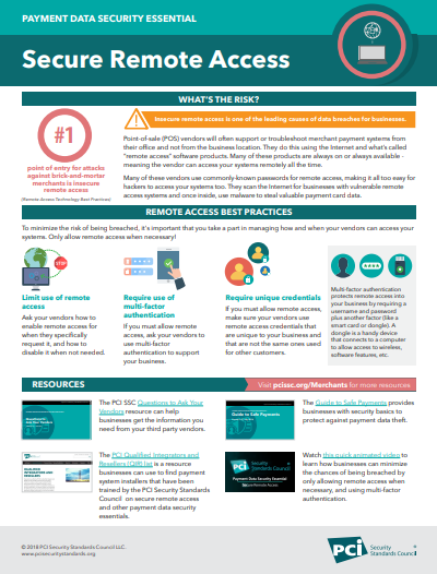 Infographic: Secure Remote Access