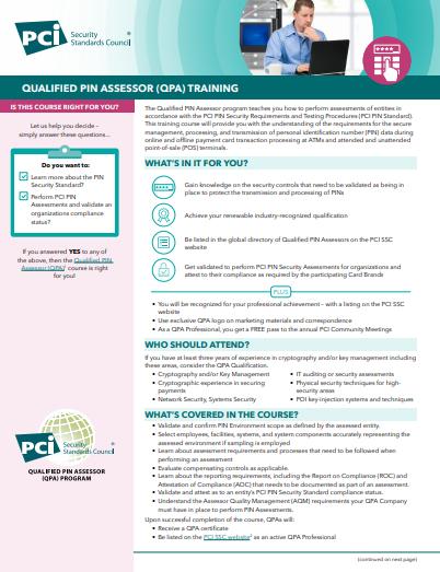 QPA Course Description