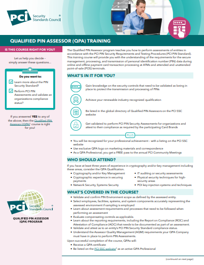 QPA Course Description