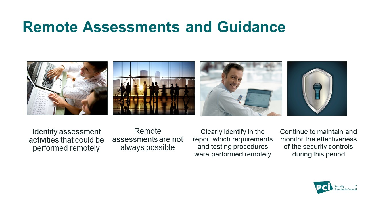 Remote assessments and guidance