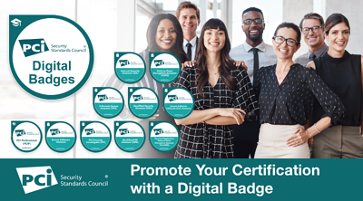 New: Promote Your PCI SSC Certification with a Digital Badge - Featured Image
