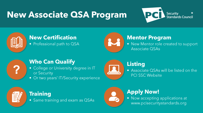 Now Accepting Applications for New Associate QSA Program - Featured Image