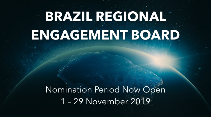 Participation Opportunity: 2020-2021 Brazil Regional Engagement Board