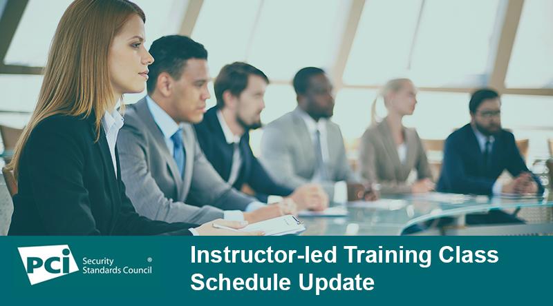Important Training Schedule Update: Instructor-Led Trainings (ILT) Canceled
