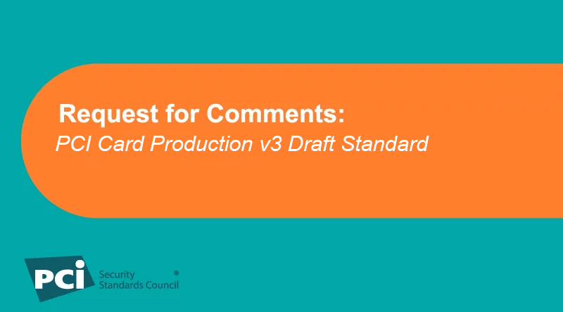 Request for Comments: PCI Card Production v3 Draft Standard