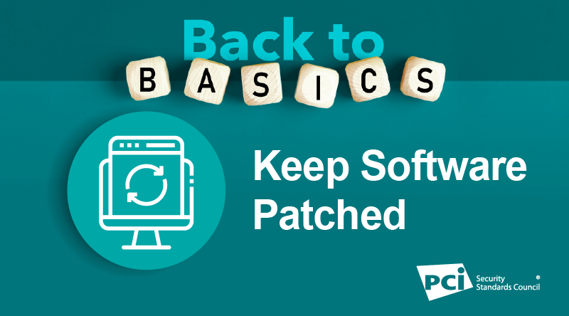 Back-to-Basics: Keep Software Patched