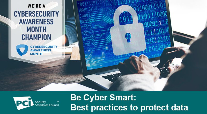 Cybersecurity Month: Be Cyber Smart