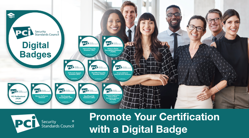 New: Promote Your PCI SSC Certification with a Digital Badge