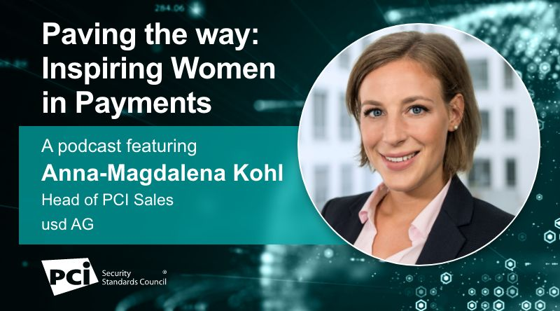 Paving the way: Inspiring Women in Payments – A podcast featuring Anna-Magdalena Kohl